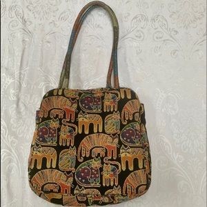 Laurel Burch purse. Very good preowned condition.